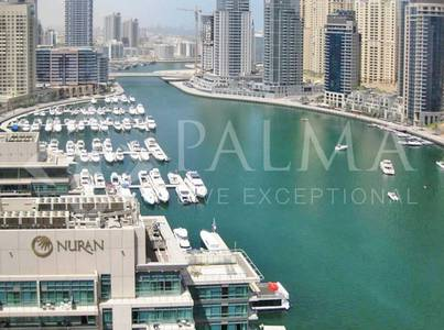 2 Bedroom Flat for Rent in Dubai Marina, Dubai - Amazing  2Bed for Rent in Silverene Towes | Marina View