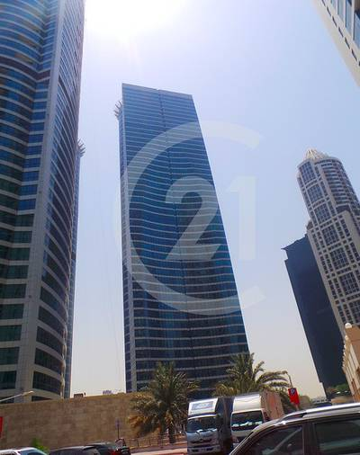 Office for Rent in Jumeirah Lake Towers (JLT), Dubai - Spacious fully furnished office for rent