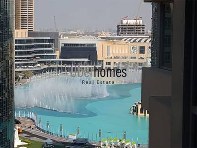 2 Bedroom Flat for Rent in Downtown Dubai, Dubai - 2Bed with Burj Khalifa and Fountain view