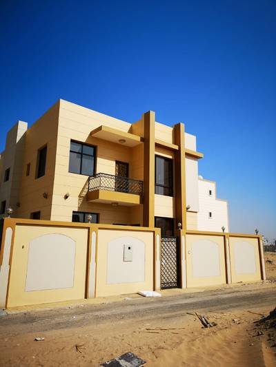5 Bedroom Villa for Sale in Al Yasmeen, Ajman - New villa for sale in Jasmine area behind the garden of Al - Hamidiya