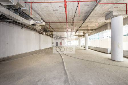 Combined retail space | Shell and core