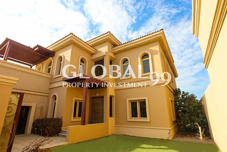 4 Bedroom Villa for Rent in Al Raha Golf Gardens, Abu Dhabi - Elegant 4 BR + M with Pool / Golf Garden