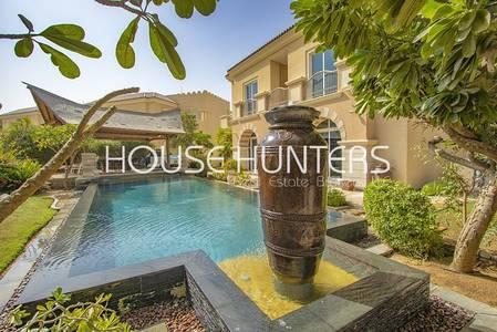 5 Bedroom Villa for Rent in Dubai Sports City, Dubai - Amazing B1 Golf Course view Infinity Pool