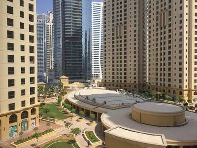 1 Bedroom Apartment for Rent in Jumeirah Beach Residence (JBR), Dubai - 1BR Fully Furnished I Best Location/Marina View