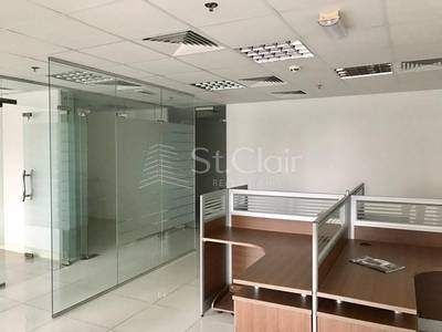 Office for Rent in Jumeirah Lake Towers (JLT), Dubai - Lake View| Fully Fitted |With Partitions