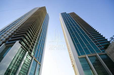1 Bedroom Apartment for Sale in Al Reem Island, Abu Dhabi - HOT DEAL! Sea view 1BR apt in Ocean Terrace