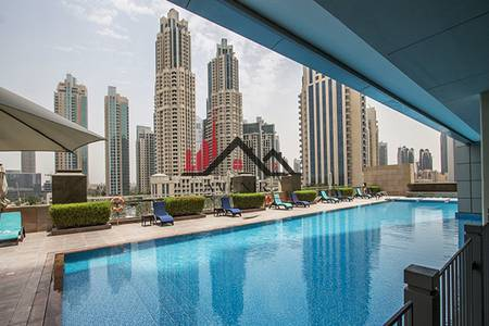 1 Bedroom Apartment for Rent in Downtown Dubai, Dubai - High Floor One Bedroom with Amazing View