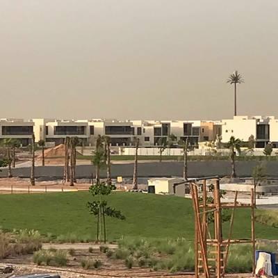 3 Bedroom Villa for Rent in DAMAC Hills (Akoya by DAMAC), Dubai - Golf Course View | 3 BR Villa in Rockwood @ Damac Hills | Dubai