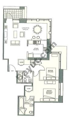 Level 6to24 - 2 Bedrooms (Type 2)