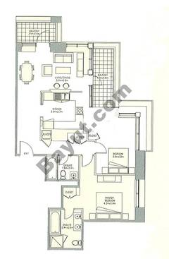 Level 25to28 - 2 Bedrooms (Type 2)