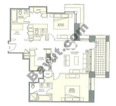 Level 29to42 - 2 Bedrooms (Type 2)