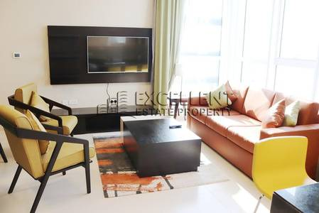 1 Bedroom Flat for Rent in Tourist Club Area (TCA), Abu Dhabi - Fully Furnished 1 Bedroom Apartment with Sea View in Al Mina