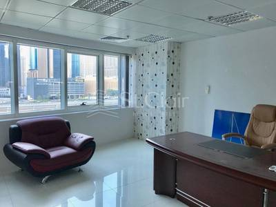 Office for Rent in Jumeirah Lake Towers (JLT), Dubai - Fully Fitted |With Partitions| Mid Floor