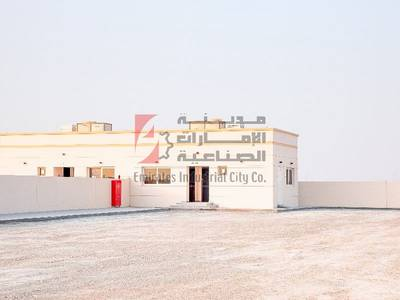 Plot for Rent in Al Saja, Sharjah - Direct From the Owner - Brand New Open Yard with Office - Sajjah Sharjah