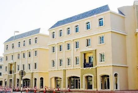 Shop for Rent in International City, Dubai - Shop for rent in France cluster International city Rent 30000 by 6 payments.