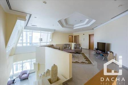 4 Bedroom Apartment for Sale in Dubai Marina, Dubai - High Quality Renovated // Penthouse 4 BR // Sea view