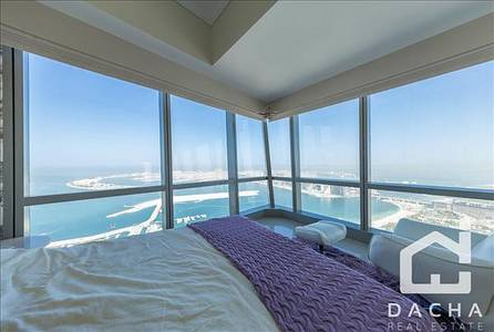 3 Bedroom Apartment for Sale in Dubai Marina, Dubai - BREATHTAKING SEA VIEW // VACANT 3 BR