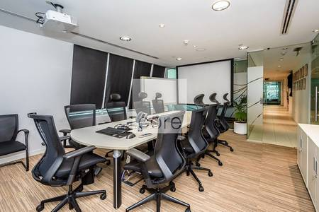 Office for Rent in Jumeirah Lake Towers (JLT), Dubai - Fitted office ready for lease I Armada 2