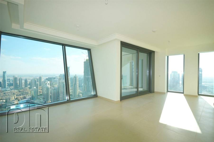 2 Incredible Views | 3bed+Maid's | BurjVista