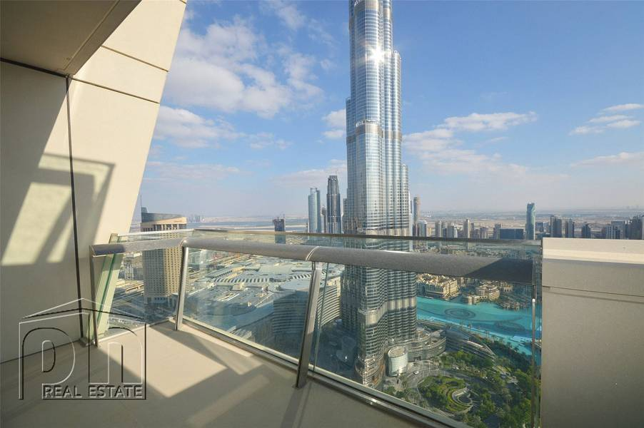 10 Incredible Views | 3bed+Maid's | BurjVista