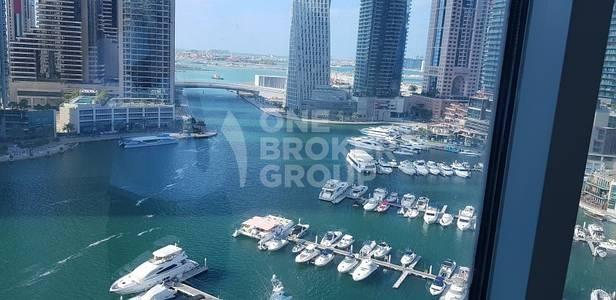 3 Bedroom Flat for Rent in Dubai Marina, Dubai - Panoramic Marina view