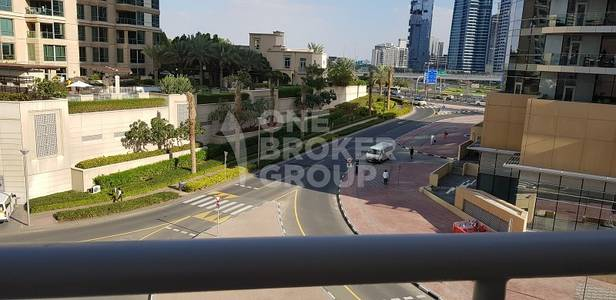 2 Bedroom Apartment for Rent in Dubai Marina, Dubai - Partial Marina View