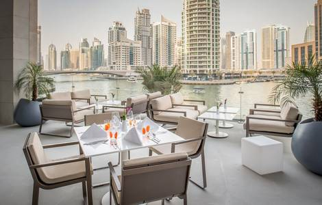 2 Bedroom Hotel Apartment for Rent in Dubai Marina, Dubai - 2 Bedroom Apartment - Partial Marina View - InterContinental Dubai Marina