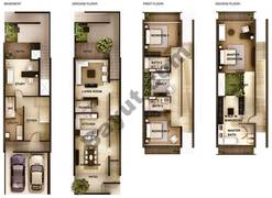 3 Bedroom Type 3A Town Houses
