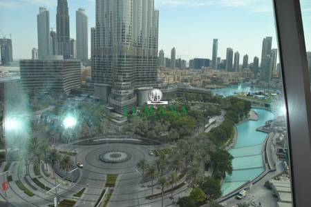 1 Bedroom Flat for Rent in Downtown Dubai, Dubai - Full Burj View Amazing View 1 Bed with large Balcony