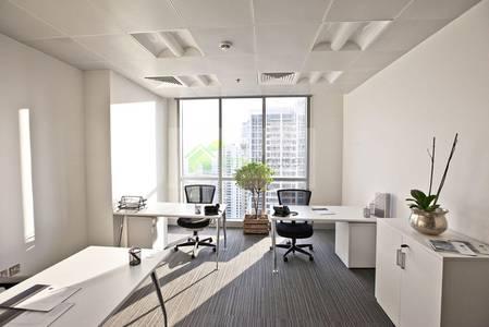 Office for Rent in Dubai Marina, Dubai - Serviced  I Furnished   Beautiful Lounge