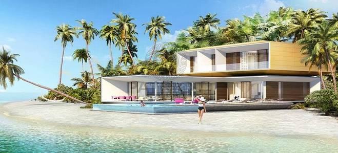 6 Bedroom Villa for Sale in The World Islands, Dubai - PRIVATE ISLAND 6BR VILLA FROM DEVELOPER