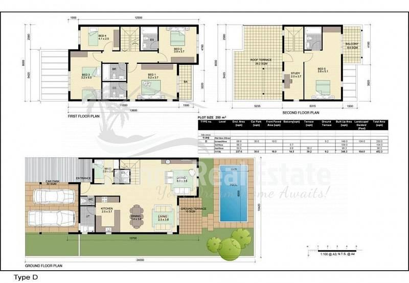12 corner 5 Bedroom Villa modified Al Reef Villa