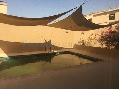 4 Bedroom Villa for Rent in Khalifa City A, Abu Dhabi - Villa with Pool 4Bed plus Maids