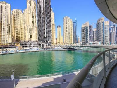 1 Bedroom Apartment for Rent in Dubai Marina, Dubai - Full Marina Facing Large One Bedroom