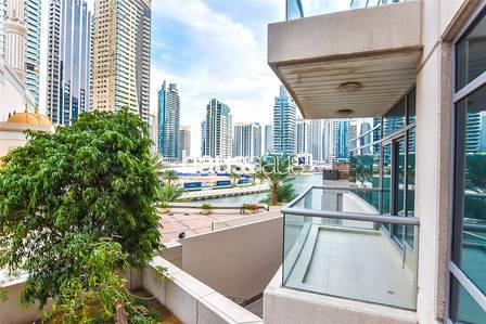 1 Bedroom Apartment for Rent in Dubai Marina, Dubai - Spacious Apt   Unfurnished  Park Island 