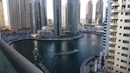 2 Bedroom Flat for Rent in Dubai Marina, Dubai - Nice 2 B/R + Hall   Marina View Tower A