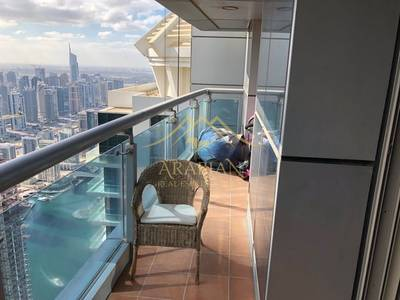 2 Bedroom Flat for Rent in Dubai Marina, Dubai - Spacious and Cozy vacant 2 bedrooms in Princess tower