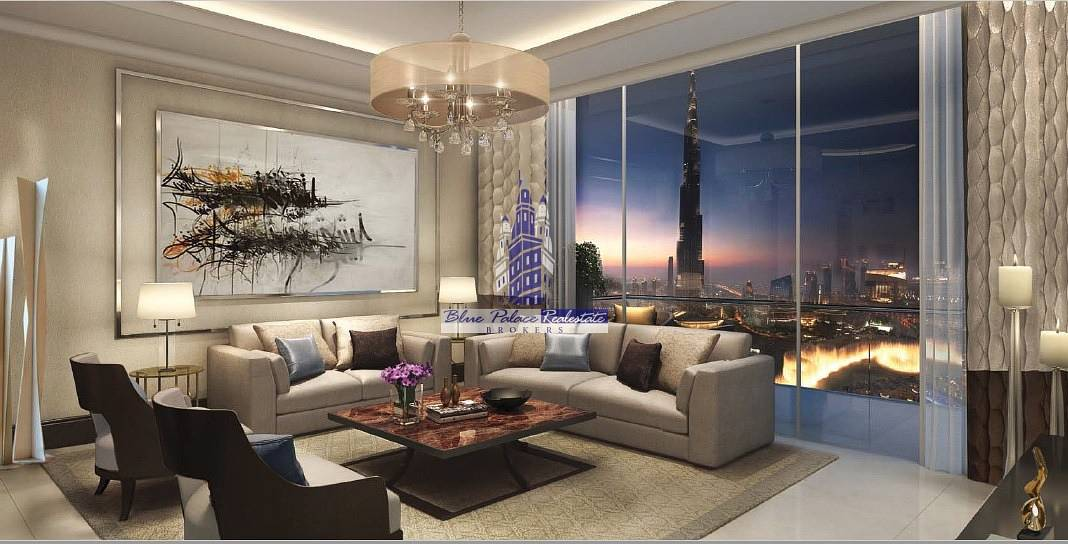 The Address Fountain Views 2Br Apartment with Burj view