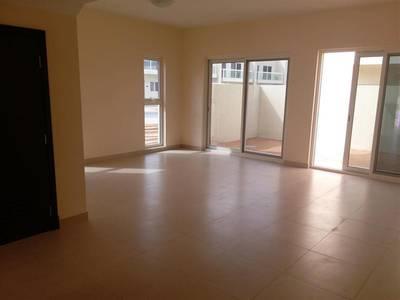 3 Bedroom Villa for Rent in International City, Dubai - Brand New Townhouse 3 B/R w/ Maids w / 2 Balconies along With 2 Car Parkings ! Warsan Village
