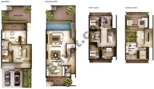 4 Bedroom Type 4A Town Houses