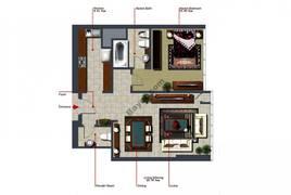 1 Bedroom-839-Type-C1