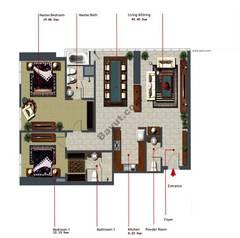 2 Bedroom-1431-Type-F