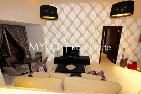 1 Bedroom Apartment for Rent in Dubai Marina, Dubai - Fully Furnished 1bedroom Cayan | Vacant