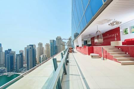 4 Bedroom Penthouse for Rent in Dubai Marina, Dubai - Silverene - Dubai Marina - Furnished Luxury Penthouse