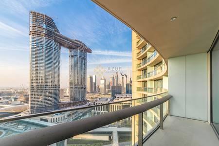1 Bedroom Apartment for Sale in Downtown Dubai, Dubai - 1 B/R | HIGH FLOOR | SEA VIEW | VACANT