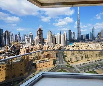 3 Bedroom Apartment for Sale in Downtown Dubai, Dubai - Elegant 3 bed  Maids | Full Burj Khalifa View | Vacant | Downtown Dubai