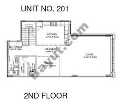 Studio - Unit 201 - 2nd Floor