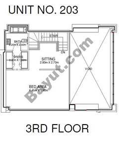 1 Br - Unit 203 - 3rd Floor