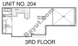 1 Br - Unit 204 - 3rd Floor