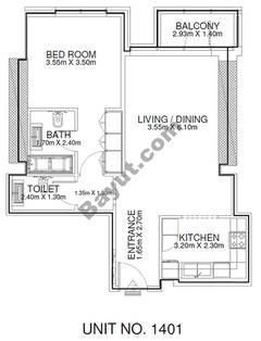 1 Br - Unit 1401 - 14th Floor